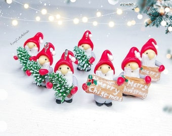Christmas Gnome Stitch markers Charm