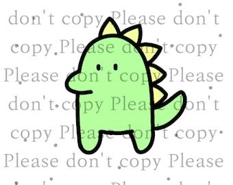 Baby Dinosaur Digital Download