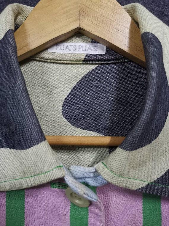 Pleats Please Shirt Dress by Issey Miyake - image 2