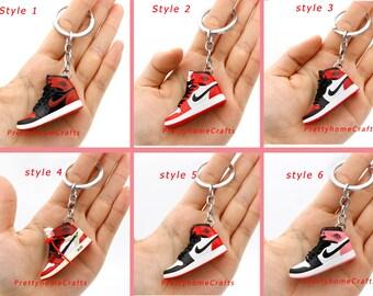 3D Mini Sneaker Keychain,Mini Keychain, 3D Sneaker Keychian,Mini Shoe Miniature,Gifts