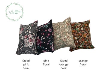 Floral Catnip Pillows - Cat Toys - Made with Recycled Materials