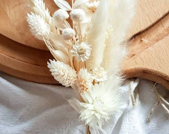 Pin Groom Dry Flower Bouquet