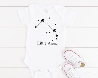 Star Onesie Horoscope Onesie Astrological Onesie Bear Onesie Moon Child Onesie Aries Onesie\u00ae Cute Baby Onesie Astrology Onesie