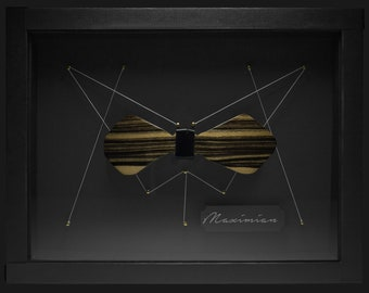 Wooden Butterfly Knot - Maximian