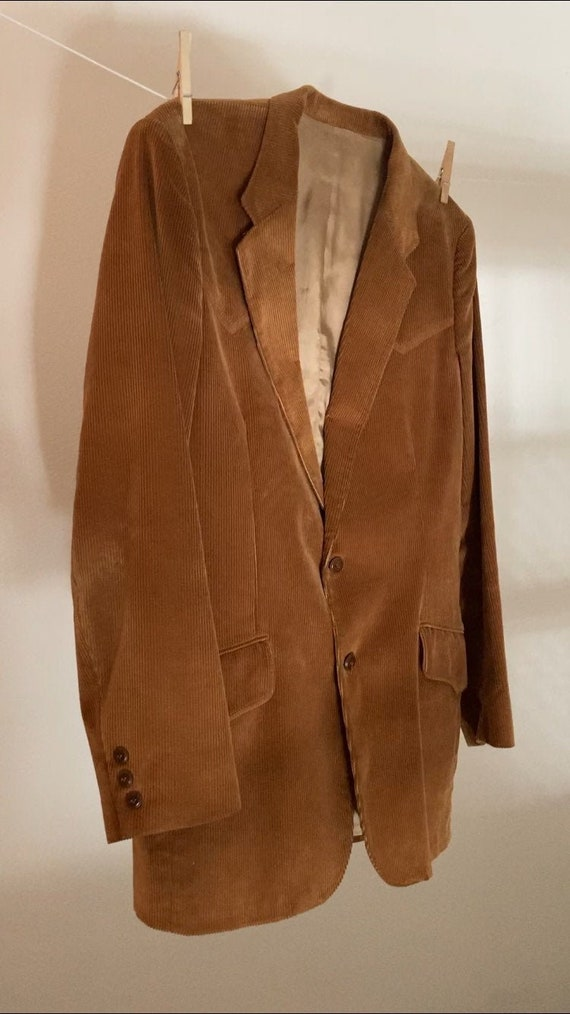 Vintage 1970s Lee Cowboy Western Corduroy blazer