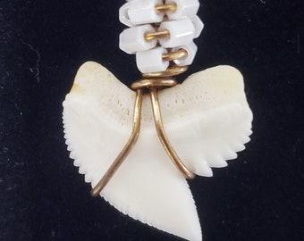 Tiger Shark Tooth Pendant