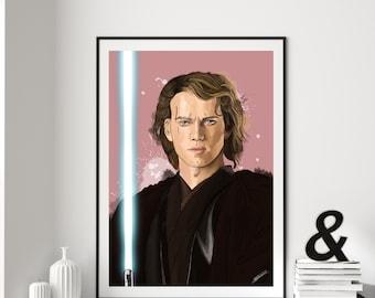 Anakin Skywalker Digital Art