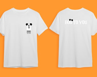 Boo to you - Glow in the dark Mickey Mouse Halloween t-shirt