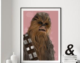 Chewbacca Digital Art