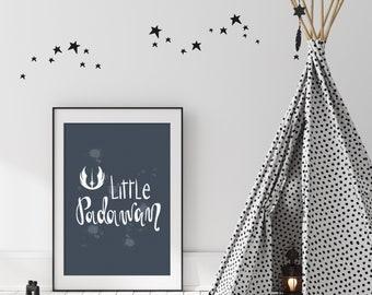 Little Padawan Digital Print