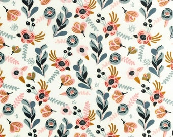 Ditsy floral 100% cotton fabric, ditsy floral cotton fabric, childrens cotton fabric