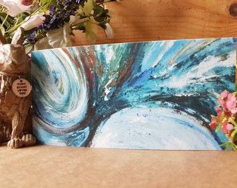 5 x Sound Medicine Greetings Cards, Holly Dunham Artist, Free Postage, Unique Artwork, Fine Artist, Local landmarks, Paintings, Art