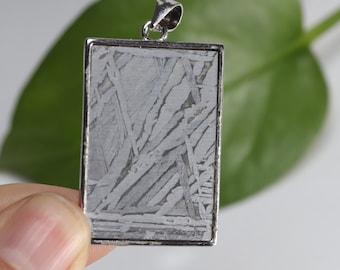 AAA+ Quality Meteorite Meteorite Pendant 925 Sterling Silver 925 Silver Meteorite Pendant Gift For Mother Natural Meteorite Gemstone