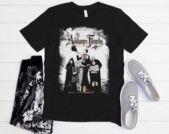The ADDAMS FAMILY T shirt Men Women Kids Movie Shirt Comedy Fantasy Horror Graphic Print Gift  Unisex T-Shirt