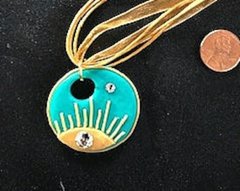 Sun and Star Pendent