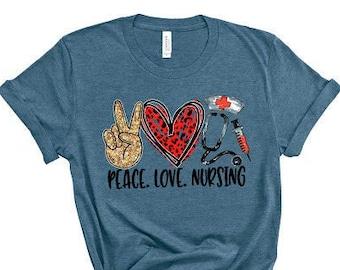 Future Nurse Shirt I Can/'t I/'m In Nursing School Funny Nurses Week NICU NP RN Graduation Gift For Her Women Men