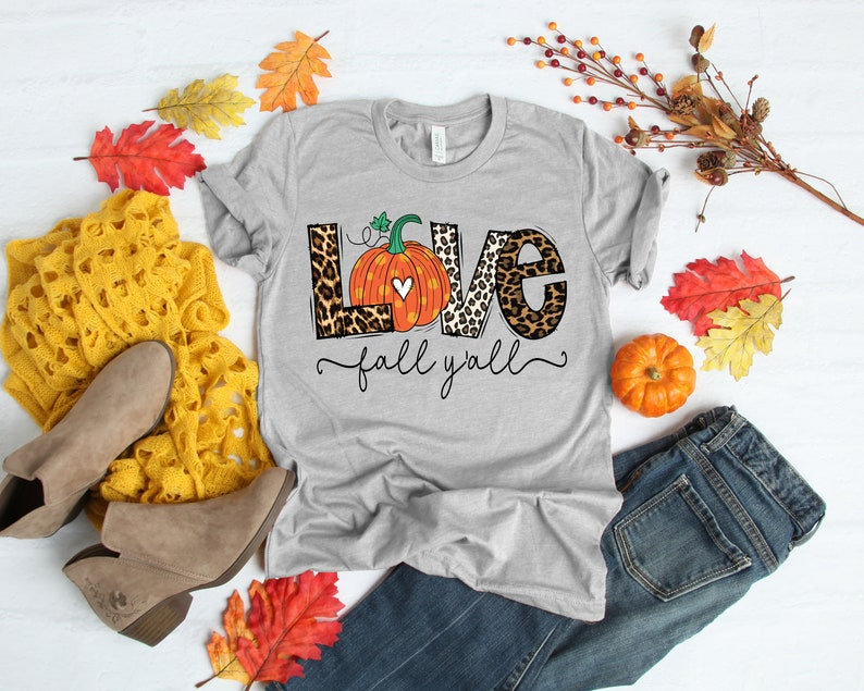 Love Fall Y'All Shirt Masswerks Store
