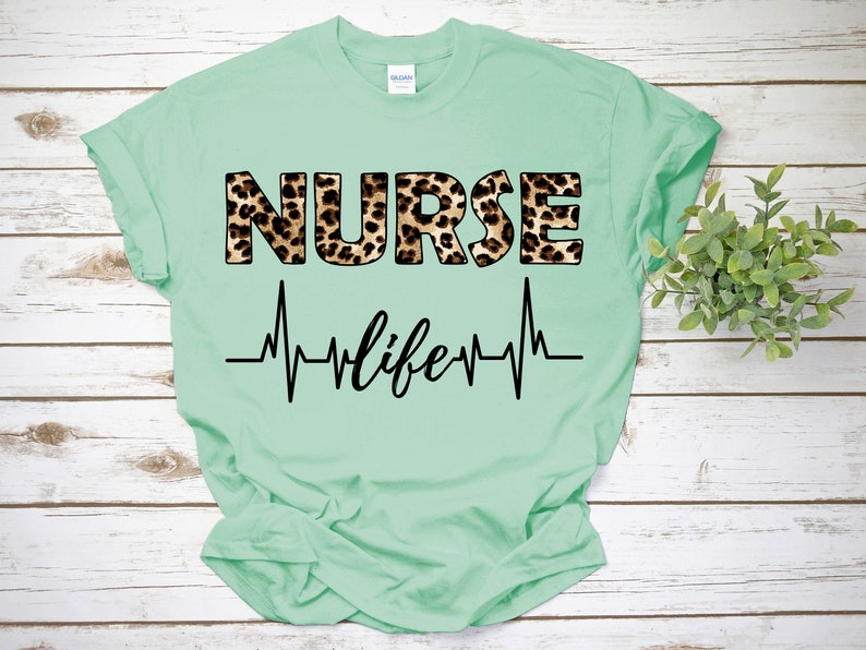Gearhuman – Nurse Life Shirt Registered Nurse Shirt RN Shirts Nurse  –  Tshirt