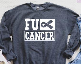 Pink Ribbon Rose Hoodie L Breast Cancer Awareness Gray Sweatshirt Unisex New Bra