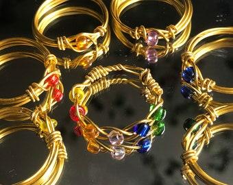 infinity stones rings