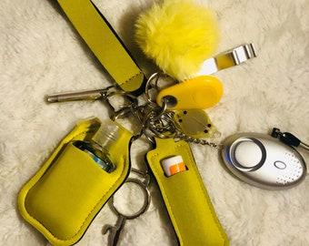 Window Breaker Safety Keychain Baby Dagger