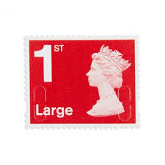 50 X Royal Mail First Class Large