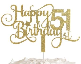 51st Birthday Cake | Etsy