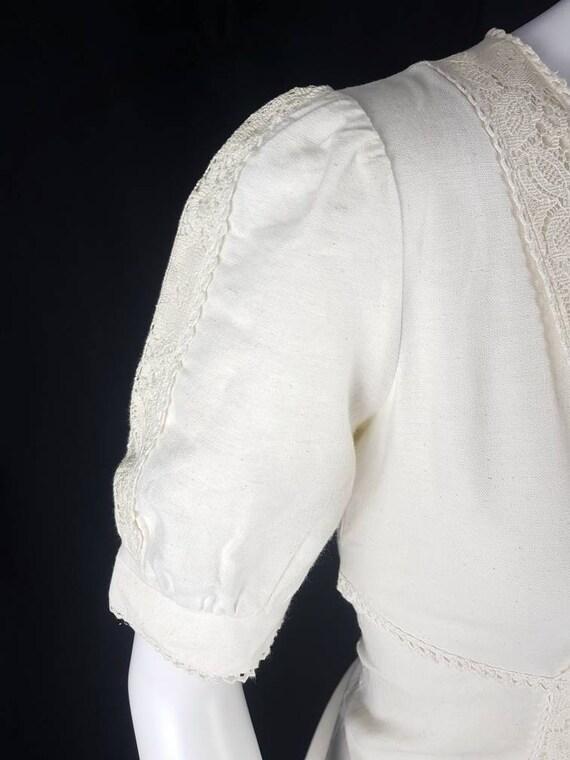 Vintage 1970's Gunne Sax Prairie Dress Size 12 Co… - image 8