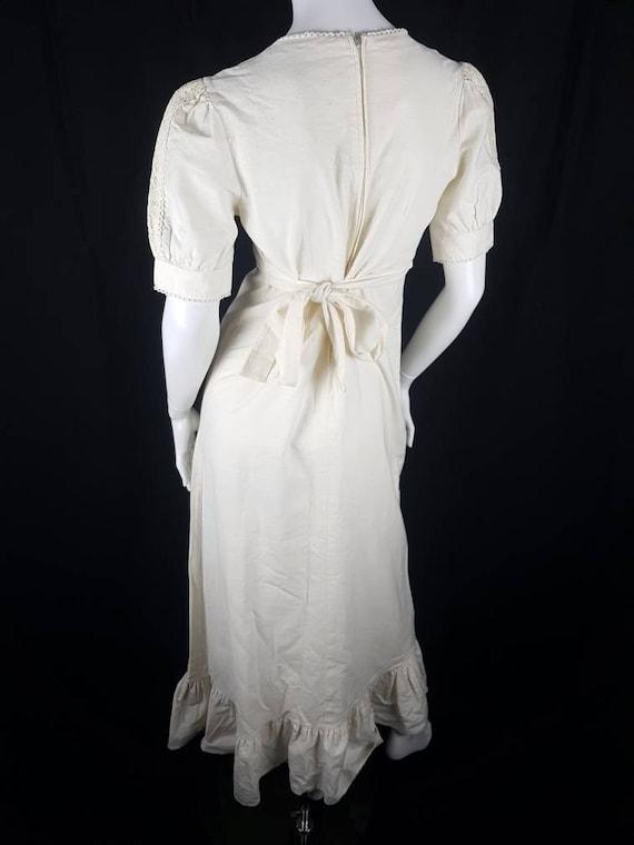 Vintage 1970's Gunne Sax Prairie Dress Size 12 Co… - image 10