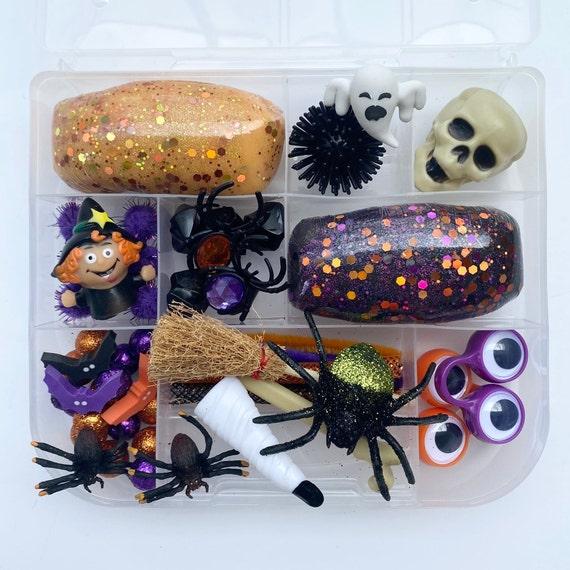 Spooky Halloween Play Dough Kit Halloween sensory kit