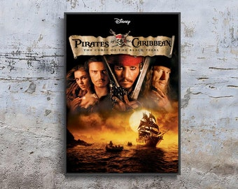 PIRATES OF THE CARIBBEAN A3 REPOSITIONAL FABRIC POSTER 8
