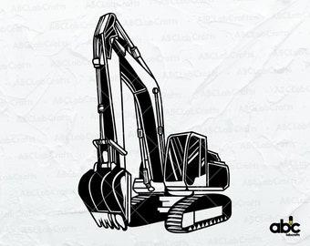Crane svg Construction Equipment svg Operator svg Heavy Equipment Lift laser print cut design Sign T-Shirt ClipArt download epspngjpegsvg