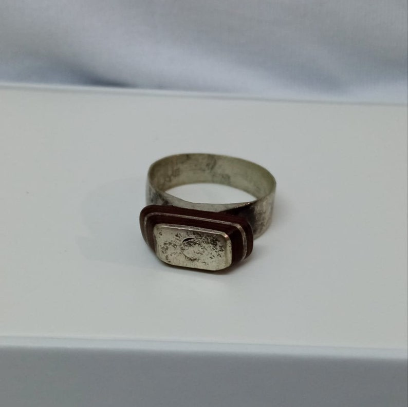 Tuareg Sterling Silver Ring from Morocco