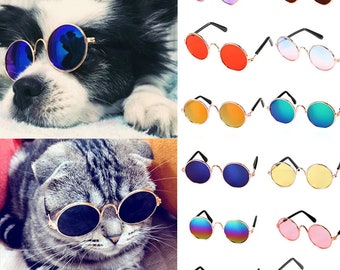 Pet Sunglasses for Cats & Dogs | 2 Sizes Cat or Dog