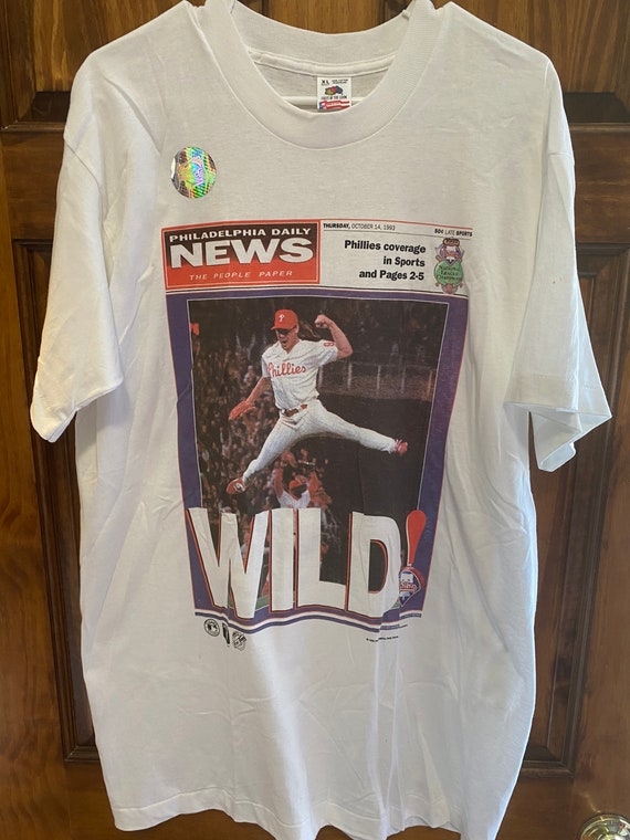 80s Philadelphia Phillies Sleevless t-shirt Small
