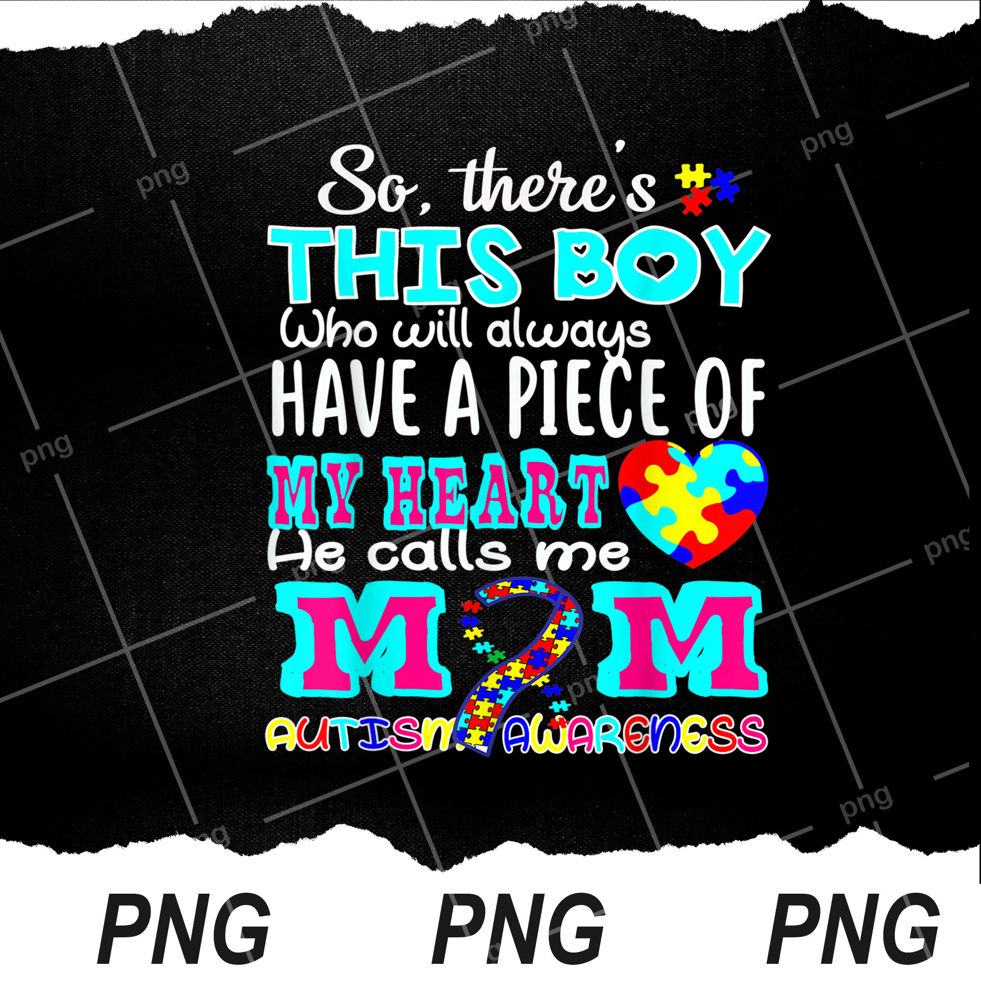 Autismus Bewusstsein mein Herz er nennt mich Mama lustige