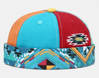Cape Without Visor Flexible Round Hat F-F-D Cap Without Visor Flexible Round Hat Multi Colors Red Blue Edition Matching Color 2021