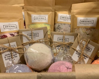 Happy Birthday Spa Box Gift Set – Handmade in Yorkshire by the Original Soap co