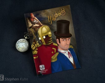 Steampunk Comic: Hildesia - Chapter 1