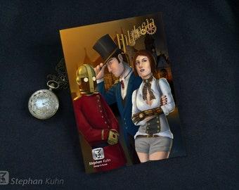 Steampunk Comic: Hildesia - Chapter 3