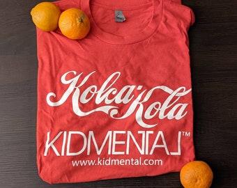 kidmental Kola Kola Tee | Coca Cola Classic Swish Font | Band Single Chart Classic