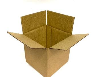 """6 x 6 x 6"""" (152 x 152 x 152mm) Single Wall cardboard box Parcel Postal Mailing Cardboard Box"""