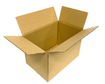 """12 x 9 x 9"""" (305 x 229 x 229mm) X 25  Single Wall cardboard box Parcel Postal Mailing Cardboard Box"""