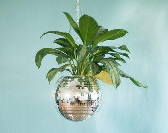 Dado Disco Ball Plant Hanger With Retro Packaging.