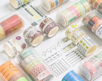 Masking Tape BASIC COLORPurplebrillantSLIM Paper Tapewashi tape