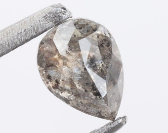 DIAMOND QUARTZ 9 MM ROUND CUT CAB ALL NATURAL AAA