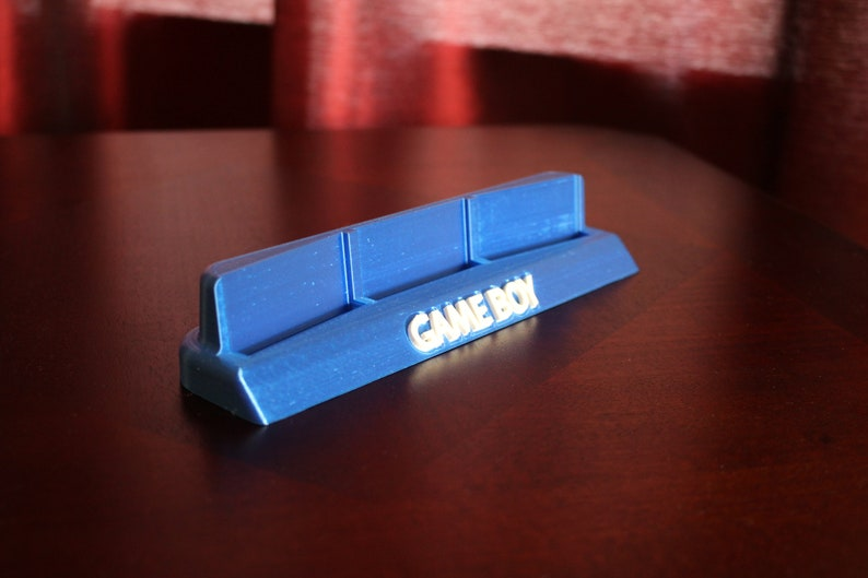 Three Game Boy Cartridge Display Holder