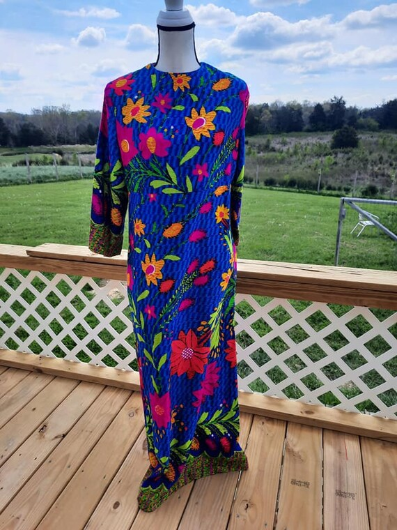 Amazing Psychedelic maxi dress