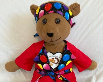 Cancer Fighting Musical Bear Caleb Fights Cancer, Depression, Loneliness, and Pain