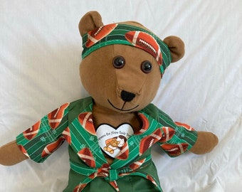 Therapy Cancer Fighting  Bear Caleb Fights Cancer, Depression, Loneliness, and Pain